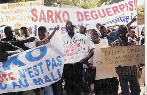 Manifestations à Bamako © Orion images