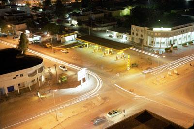 Central Nouakchott, Mauritania © Philippe Sibelly
