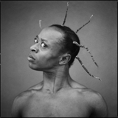 Merlin Nyakam, Ouagadougou, 2006 © antoine tempé
