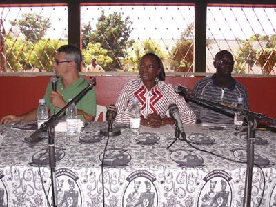 Conférence, Quartier d'Orange, Jean Luc Baillet, Mancini Traore, Modibo Konate