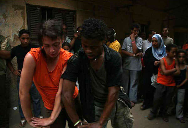 Performance au Caire, 2007 © Emeka Okereke