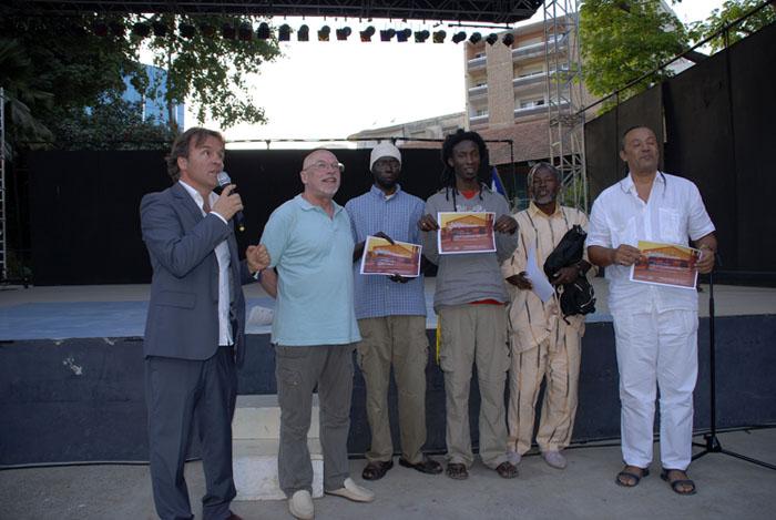 Pierre Jaccaud, Roger Pierre Turine,Ngoor, Samba Fall, Touré Mandemory, Tchalé.