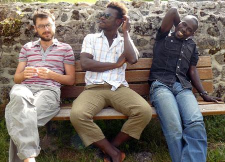 Baptiste de Ville d'Avray, Raymond Dakoua et Harandane Dicko