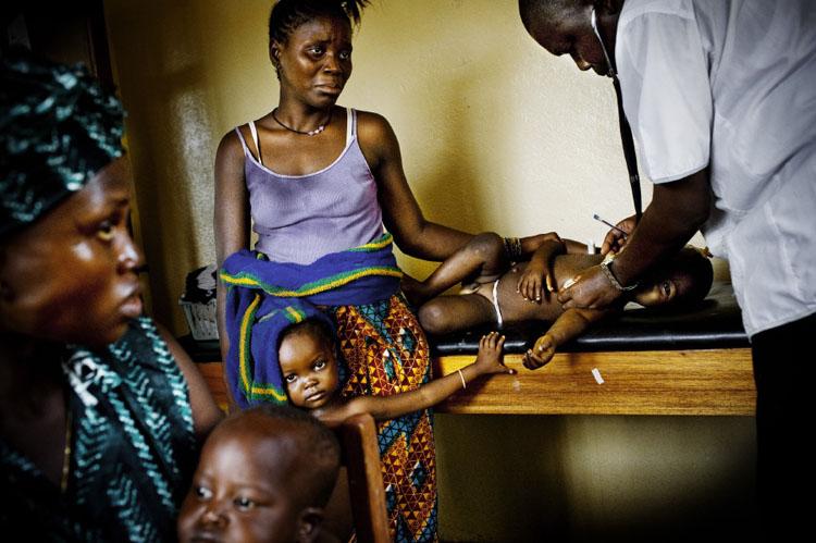 Malaria, Sierra Leone © William Daniels