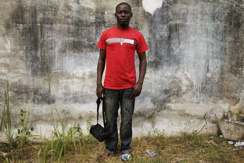 Serge attend depuis 4 mois de commencer sa mission an tant qu'agent sagem au sein du centre © Camille Millerand