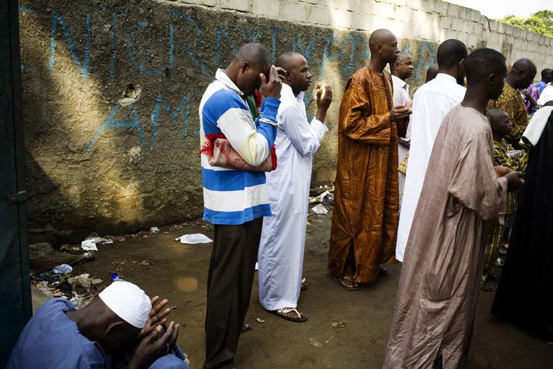 fête de la Tabaski à Abobo © Camille Millerand