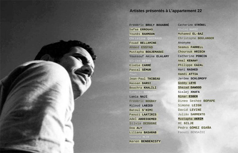 Extrait du livre « L'appartement 22 », 2002-2008
