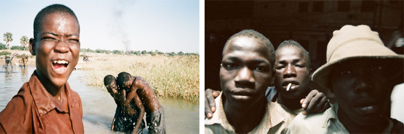 Enfants de la rue, 2006-2009 © Abdoulaye Barry
