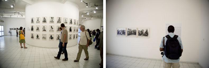 Expostion de Fazal Sheikh au Musée du District © Baptiste de Ville d'Avray