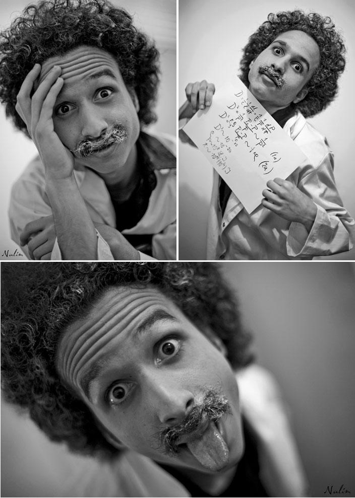 série Einstein © Nabila Halim