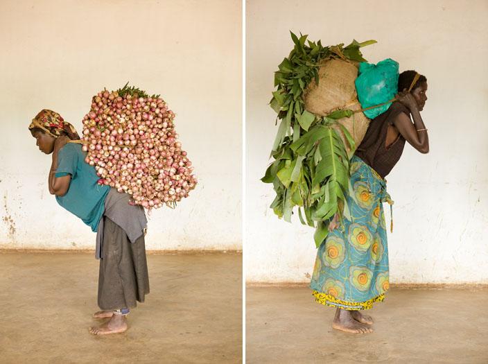 Femmes porteuses © Eliane Beeson & Francois Vaxelaire / Free Advice