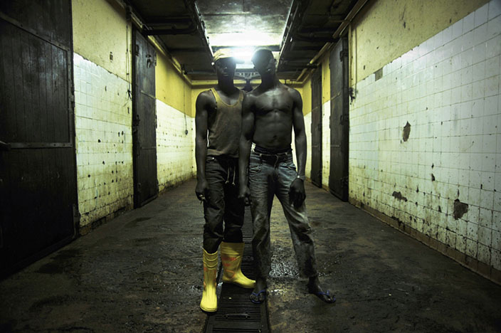 Série Inside Niger / Nassim & Mohammed, Abattoir, Niamey - 2009 © nicolalocalzo