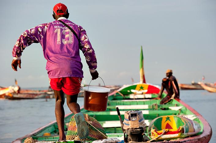 Embarquement - 07h30 : un équipage commence à embarquer © Rindra Ramasomanana