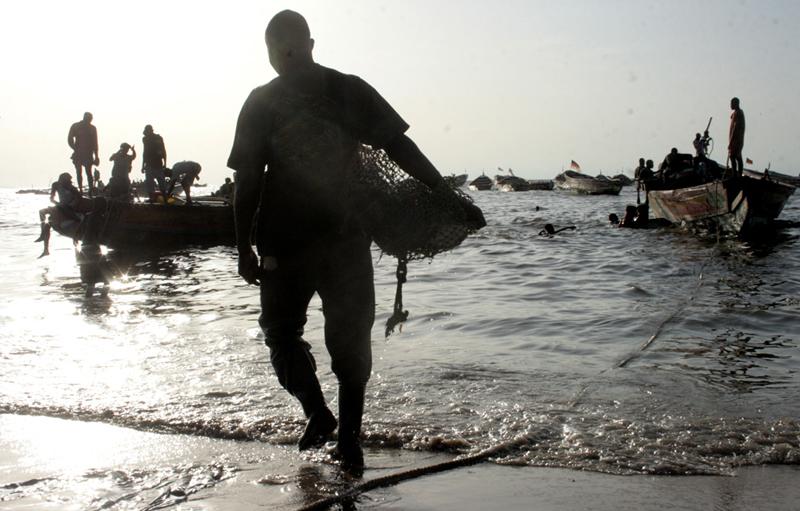Le retour du marayeur en fin de journée © Emmanuel Bakary Daou