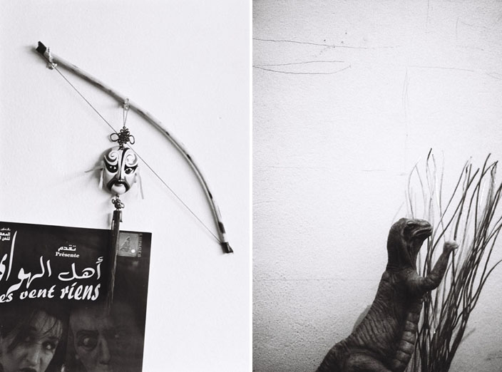 composition 4 (à gauche) / composition 1 (à droite) © Fakhri El Ghezal