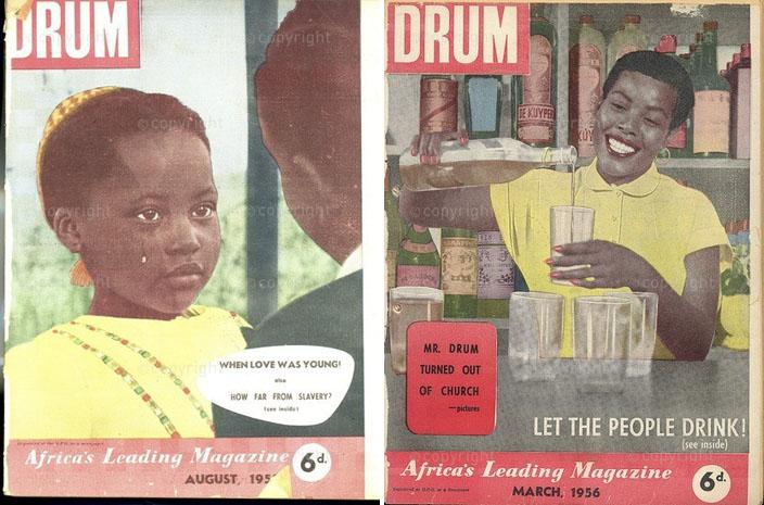 1955 – Une fiction pour raconter le prix  à payer quand on est encore une enfant... (G.)  1956 – A travers une fiction de Can Themba,