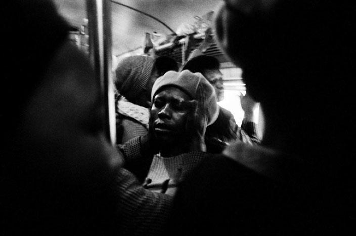 Santu Mofokeng, Laying of Hands – Johannesburg-Soweto Line, 1986  Courtesy Lunetta Bartz, MAKER, Johannesburg © Santu Mofokeng