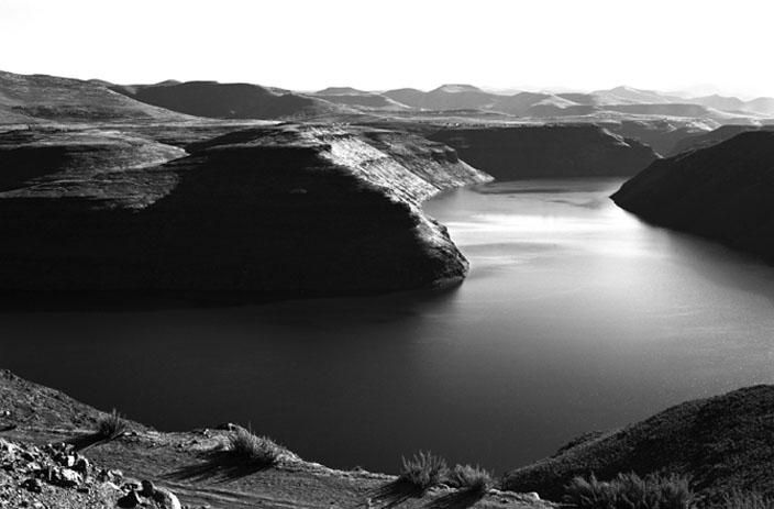 Santu Mofokeng, Katse Dam — Lesotho, 1996  Courtesy Lunetta Bartz, MAKER,  Johannesburg  © Santu Mofokeng
