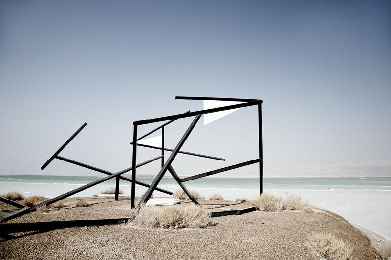 untitled - tracks | series dead sea, 2009 © François Xavier Gbré