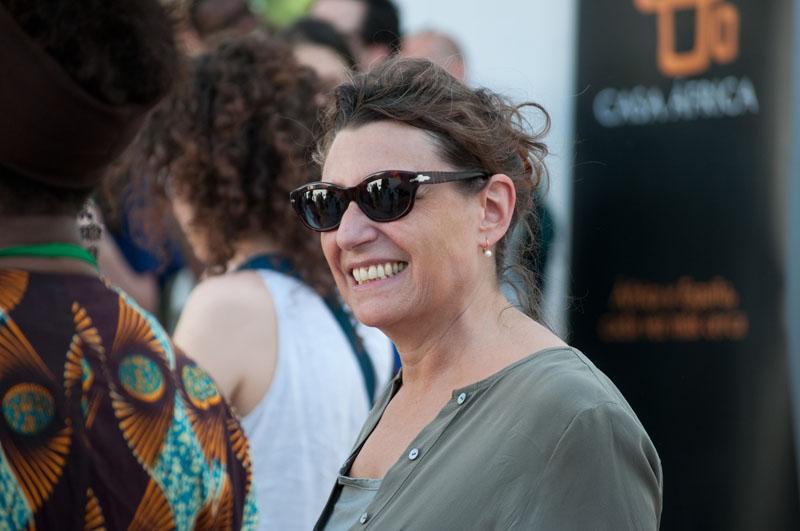 Laura Serani, commissaire des Rencontres © Rodrig Mbock