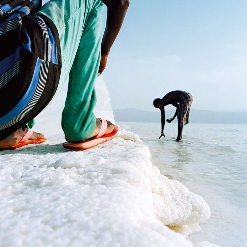 Lac Assal, Tadjoura, Djibouti, 2011,