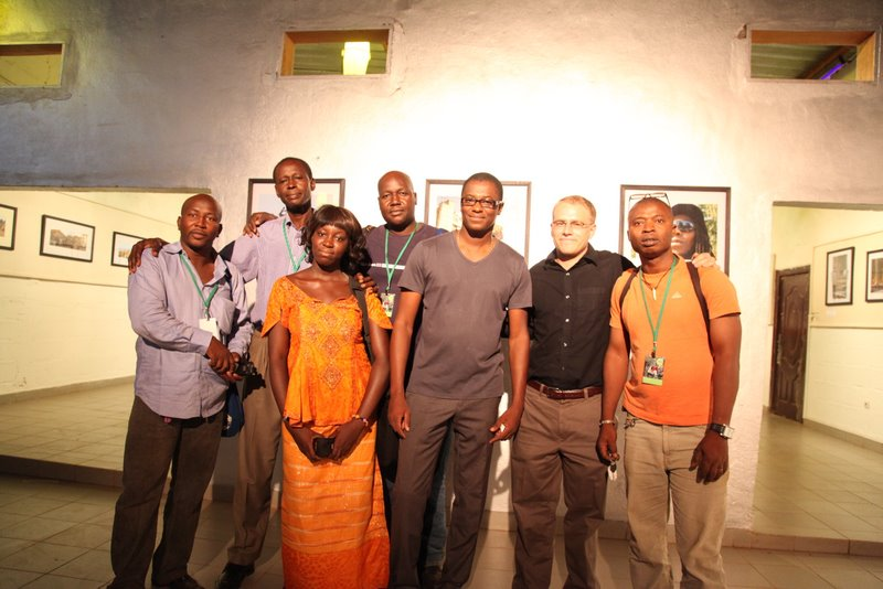 Vernissage de l'expo du collectif Djabugusso au Blonba © Sébastien Rieussec