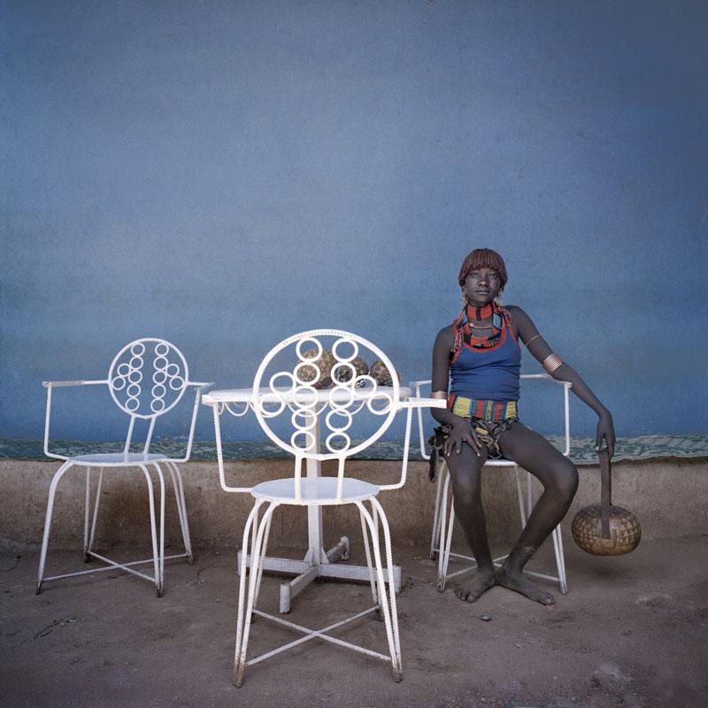 Jeune fille de Hamer, Dimeka 2005 © Juan Manuel Castro Prieto