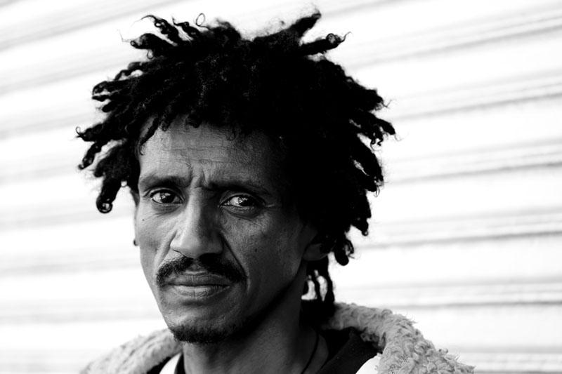 Pensive Faces Project Piassa Addis Ababa Ethiopia by Jumoke Sanwo
