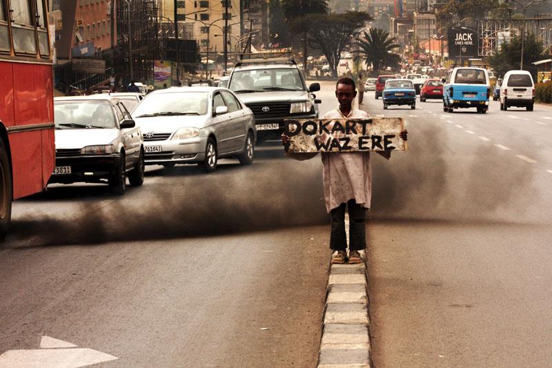 Traffic POKArt was Ere Series Addis Ababa Ethiopia by Kemi Akin Nibosun