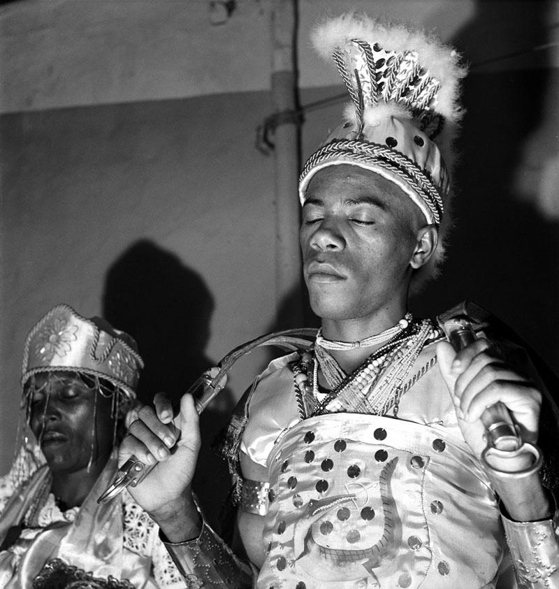 Candomblé Cosme - Cérémeonies africaines - Salvador, Brésil - [1950-1951] © Pierre Verger