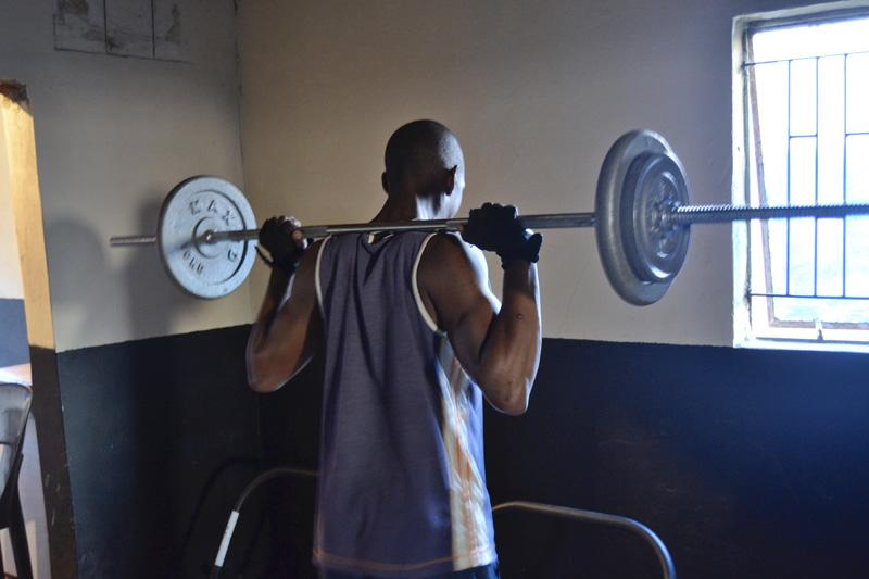 Bodybuilders © Ernest Dlamini
