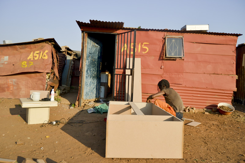 Poor living conditions © Lindokuhle Sobhekwa