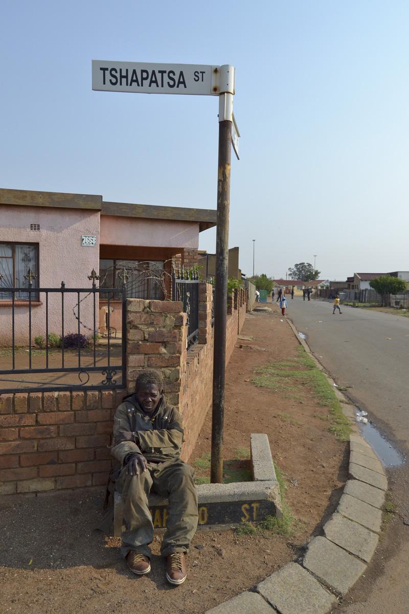 A life with a homeless man © Tshepiso Mazibuko