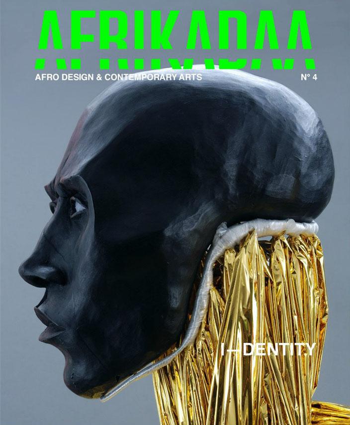 Couverture du n°4 de la revue Afrikadaa