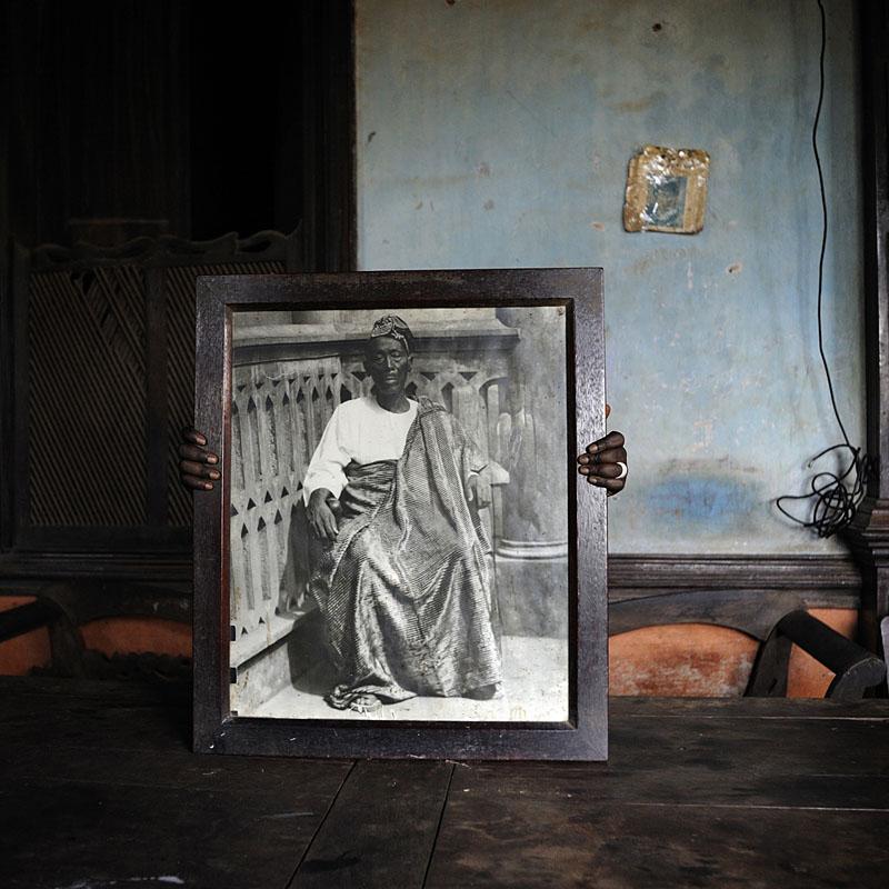 Protégé : Portrait de David Godonou Dossou - Porto-Novo, 2011 © Nicola Lo Calzo