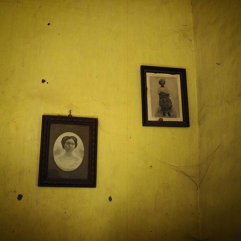 Photographies de la famille Olivier de Montaguere - Ouidah, 2011 © Nicola Lo Calzo