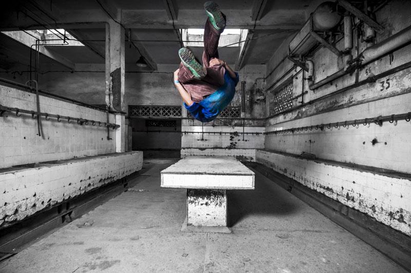 Sans Titre #5, série « In Motion », 2012 - 60x90 cm © Fayssal Zaoui