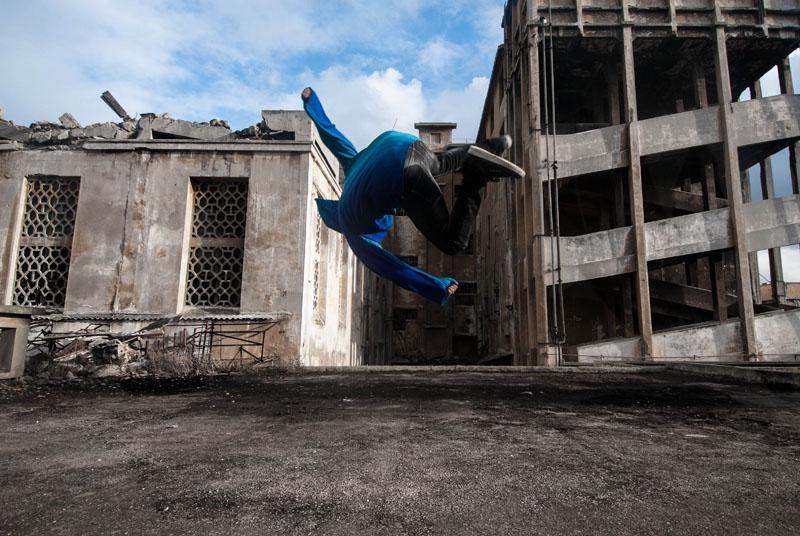 Sans Titre #5, série « In Motion », 2012 - 60x90 cm © Fayssal Zaoui,