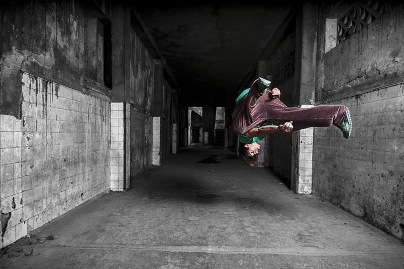 SANS TITRE # 4, série IN MOTION, 2012 © Fayssal Zaoui