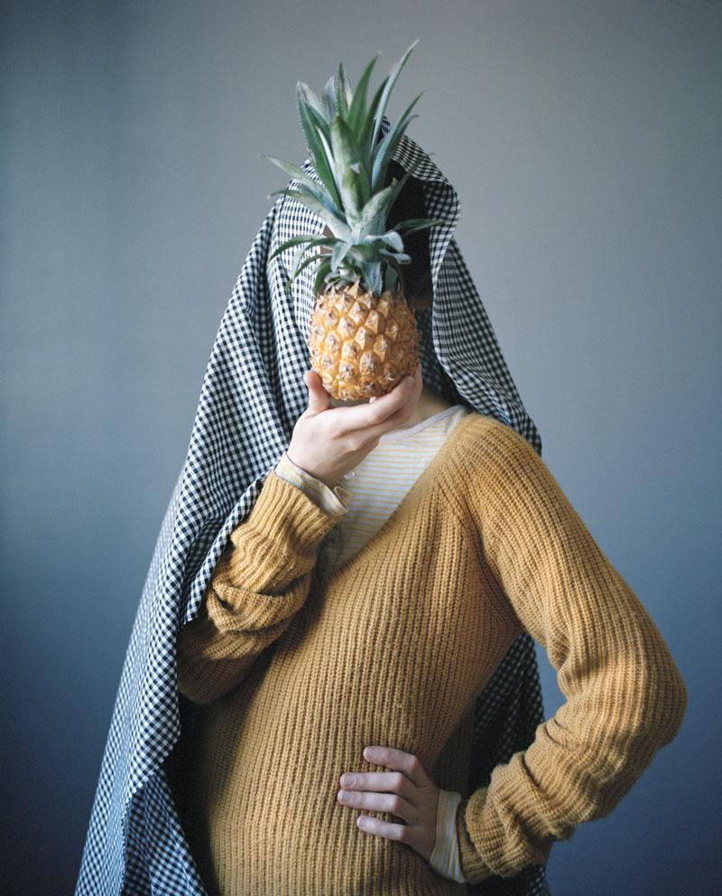 Camouflage à l'ananas © Marie Hudelot