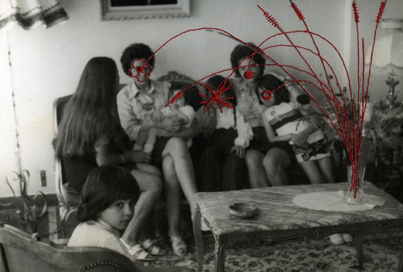 Le bouquet de fleurs © Carolle Benitah