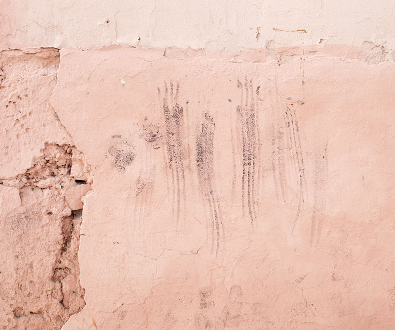 Jmarrakech, « Marrakechi Trace I » © Hanane Housni
