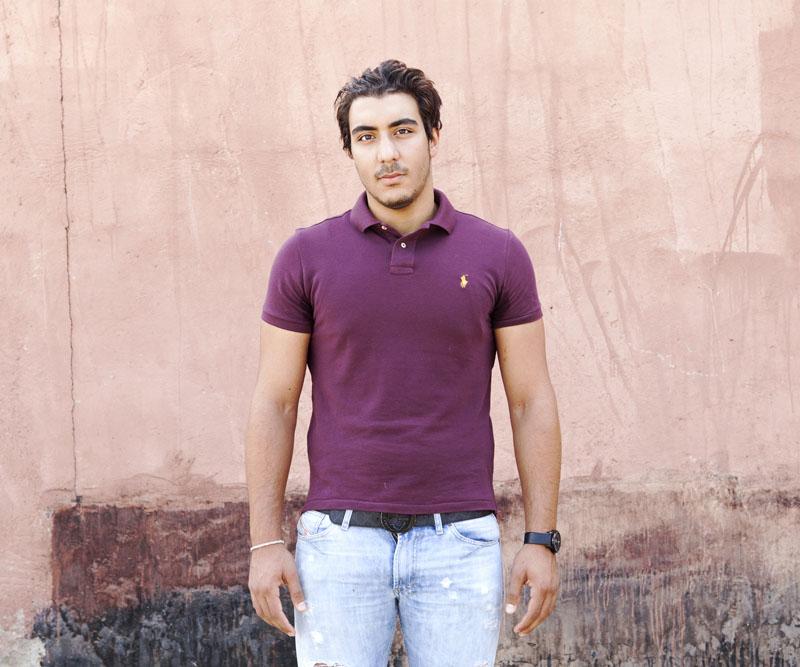 Jmarrakech, « Simo » © Hanane Housni