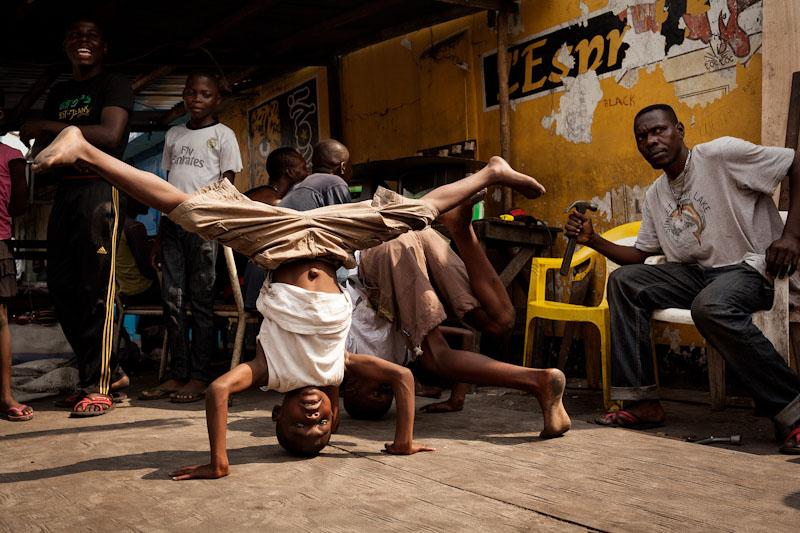 Capoeira, RDC Kinshasa , 2014 © Leonora Baumann