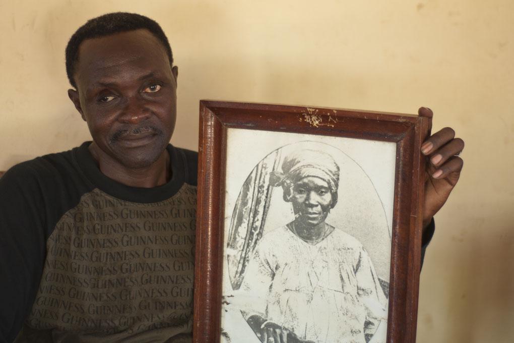 Lucien D'Almeida, Ouidah 2014 © Catherine Laurent