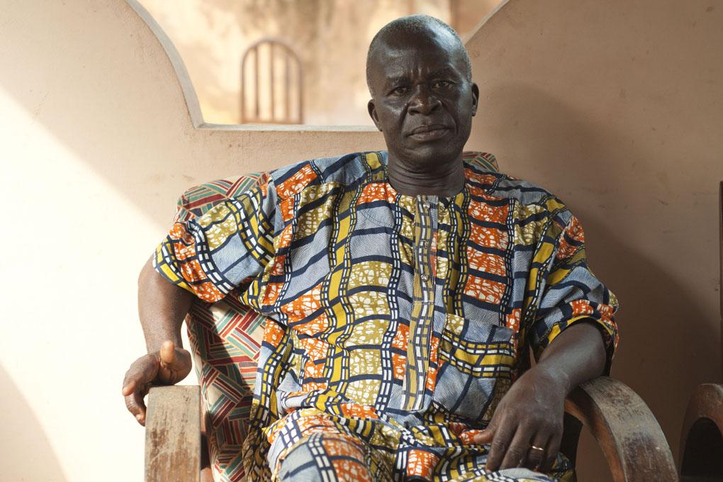 Gilbert Monteiro, Ouidah 2014 © Catherine Laurent