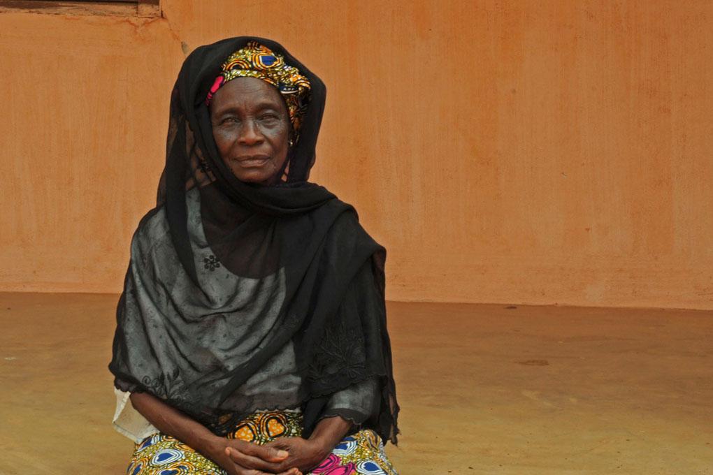 El Hadja Salamatou Do Rego, Ouidah 2014 © Catherine Laurent
