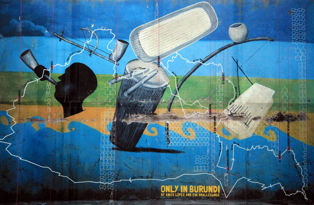 Couverture du livre 'Only in Burundi' © Anaïs López